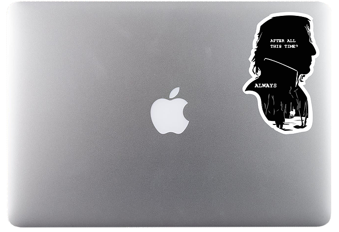 Snape's Always Sticker