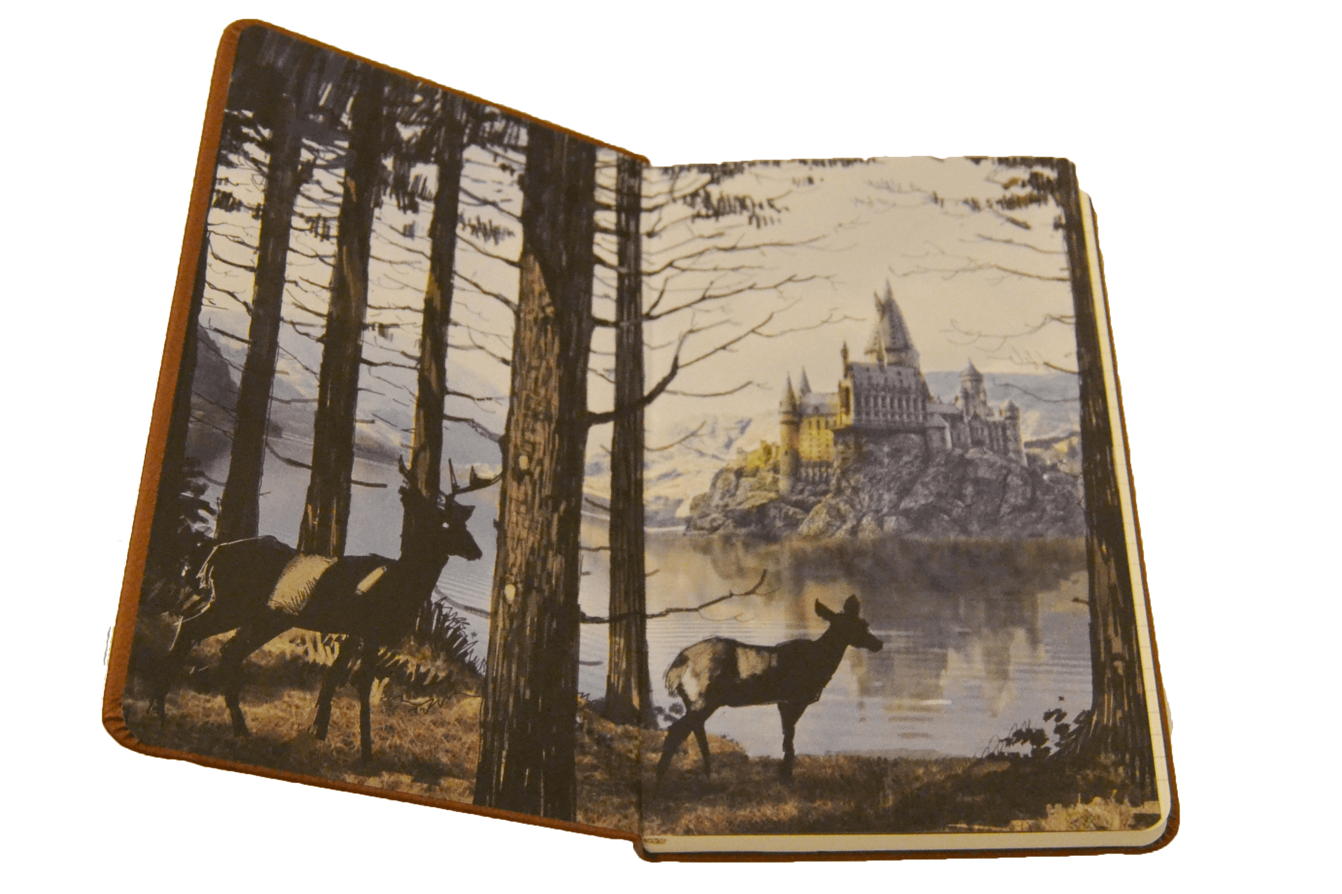 Hogwarts Hardcover Ruled Journal