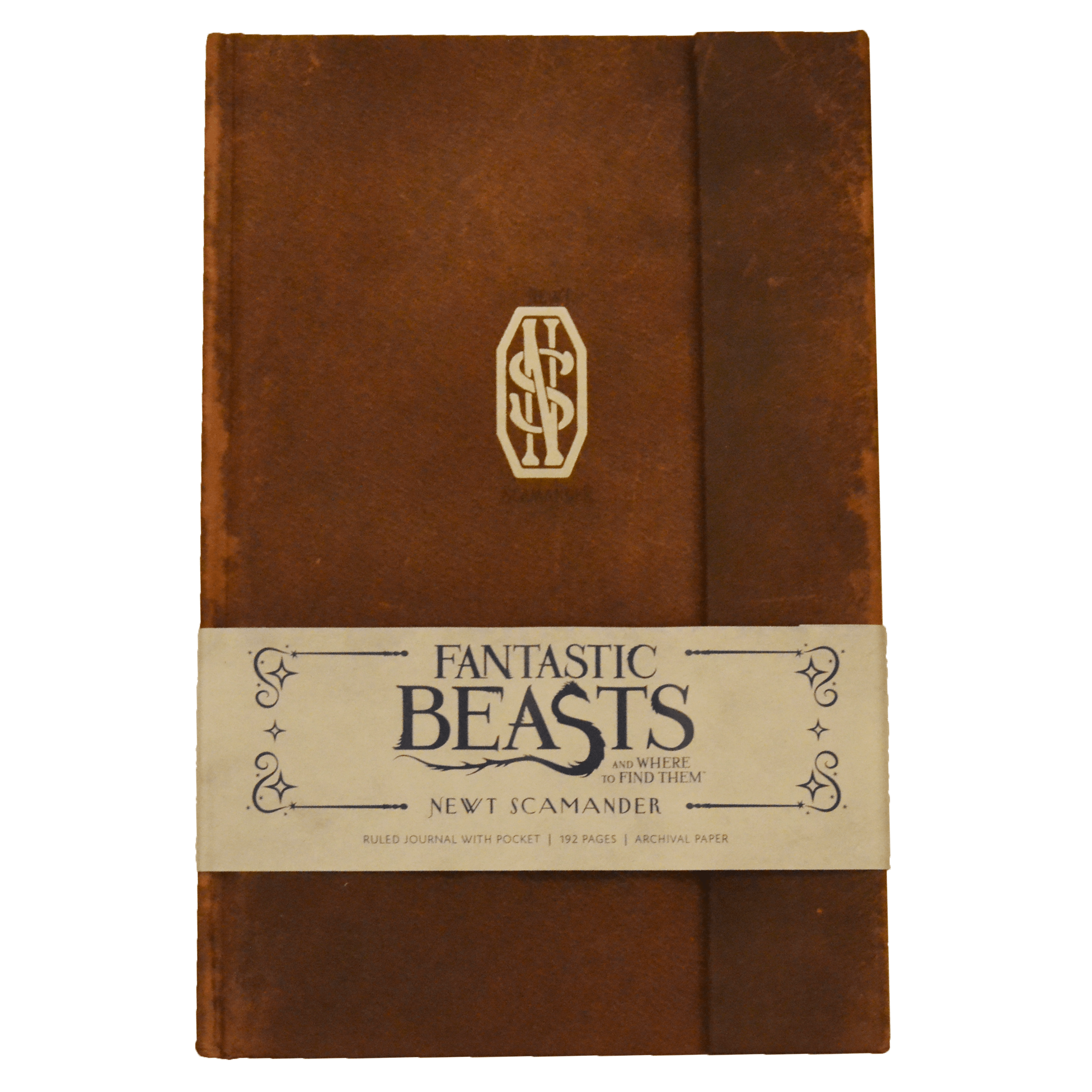 Newt Scamander Hardcover Ruled Journal