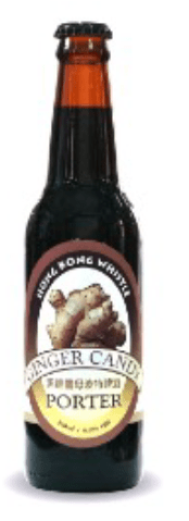 Hong Kong Whistle: 黑糖薑母啤 Ginger Candy Porter