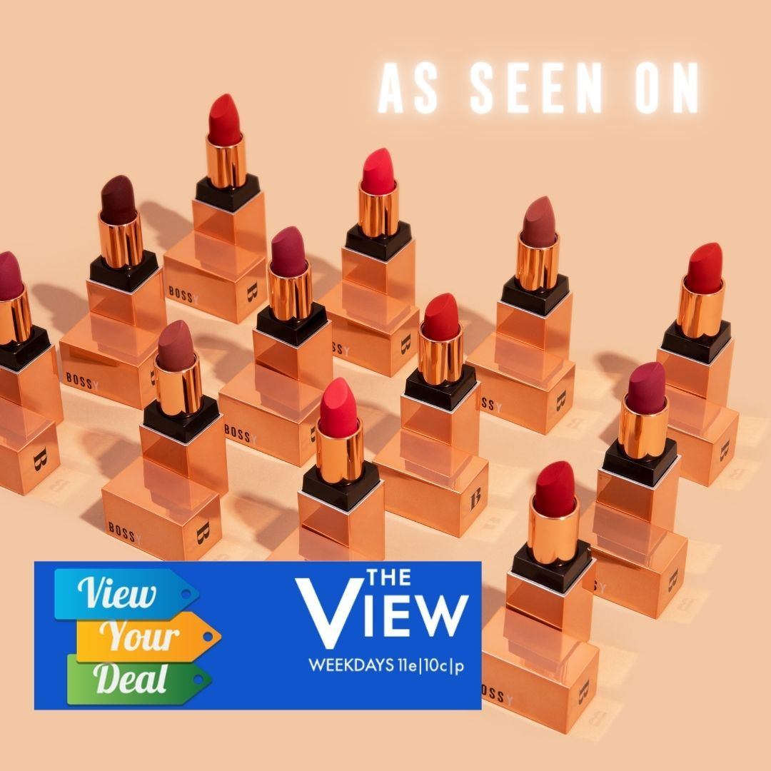 See Bossy Cosmetics on The View on ABC
