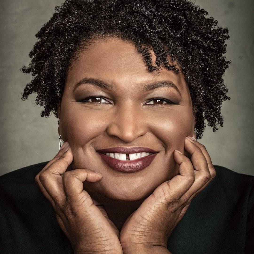 Stacey Abrams y'all.