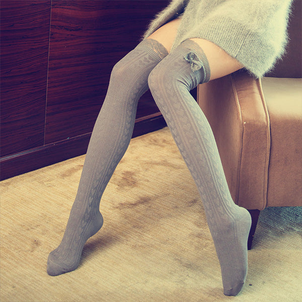6d9faf3ff New Fashion Sexy Women Girl Thigh High Stockings Over Knee High Socks