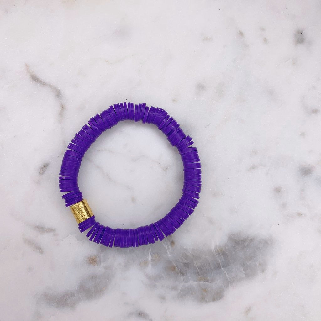 Purple Color Pop Bracelet
