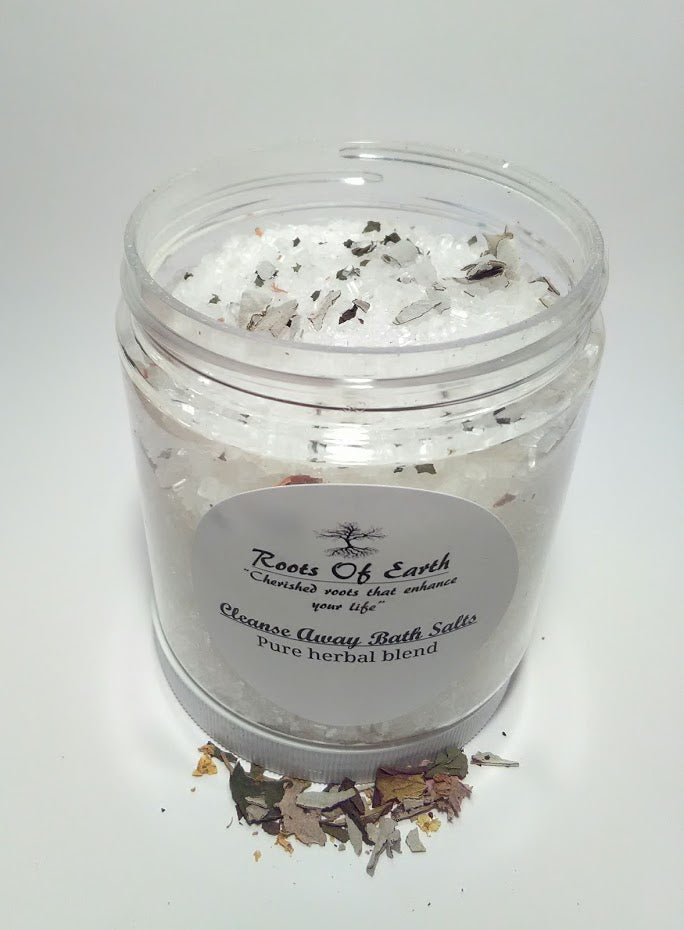 Cleanse Away Bath Salts For Stagnant Stuck Energy By Roots Of Earth