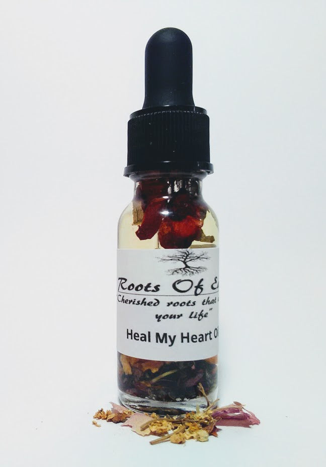 HEAL MY HEART OIL FOR GRIEF AND LOSS BY ROOTSOFEARTH