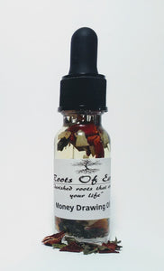 Money Drawing Oil For Abundance By Roots OF Earth 1/2 Oz
