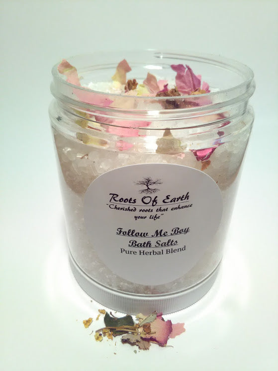 Follow Me Boy Bath Salts For Attracting Your Target By Roots Of Earth