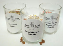 Road Opener Candle with Roots and Oils By Roots Of Earth