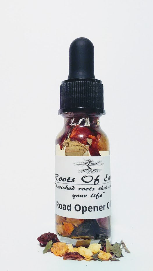 ROAD OPENER OIL FOR OPENING DOORS IN LIFE BY ROOTS OF EARTH
