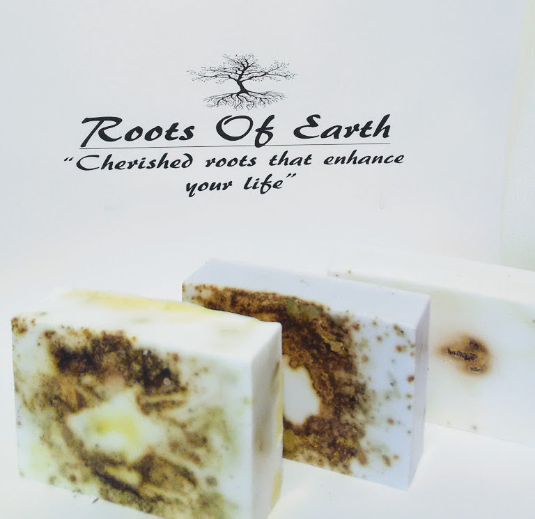 OSHUN/CROWN OF SUCCESS/JOHN THE CONQUEROR SOAP SET PURE AND NATURAL BY ROOTS OF EARTH