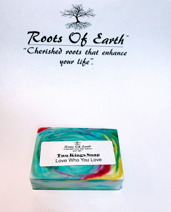 TWO KINGS LGBTQ PRIDE SAME SEX UNION SOAP CREATED IN NEW MOON AND FULL MOON 4oz