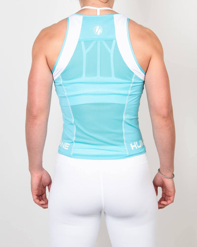Finisher Tank Teal/White - Same Day Shipping