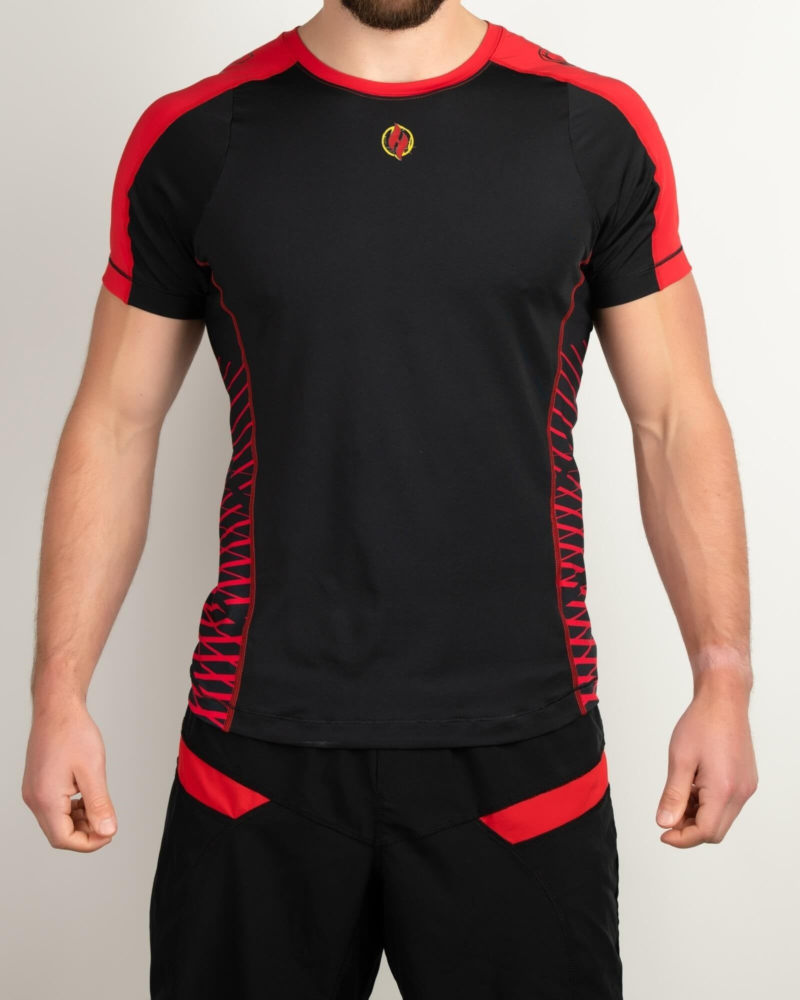Finisher Jersey Black/Red - Same Day Shipping