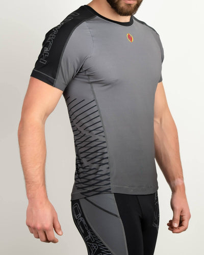 Finisher Jersey Black/Gray - Same Day Shipping