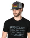 Trucker Snapback Hat - Same Day Shipping