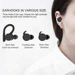 BE1018 Wireless Headphones Bluetooth 5.0 PX7 Waterproof Noise Cancellation with Mic for Mobile Phones