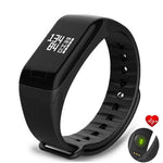 F1 Fitness Tracker Wristband Heart Rate Monitor Smart Bracelet