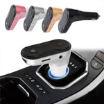New C8 Car Bluetooth MP3, Support U Disk TF Card FM Launch Usb Charger