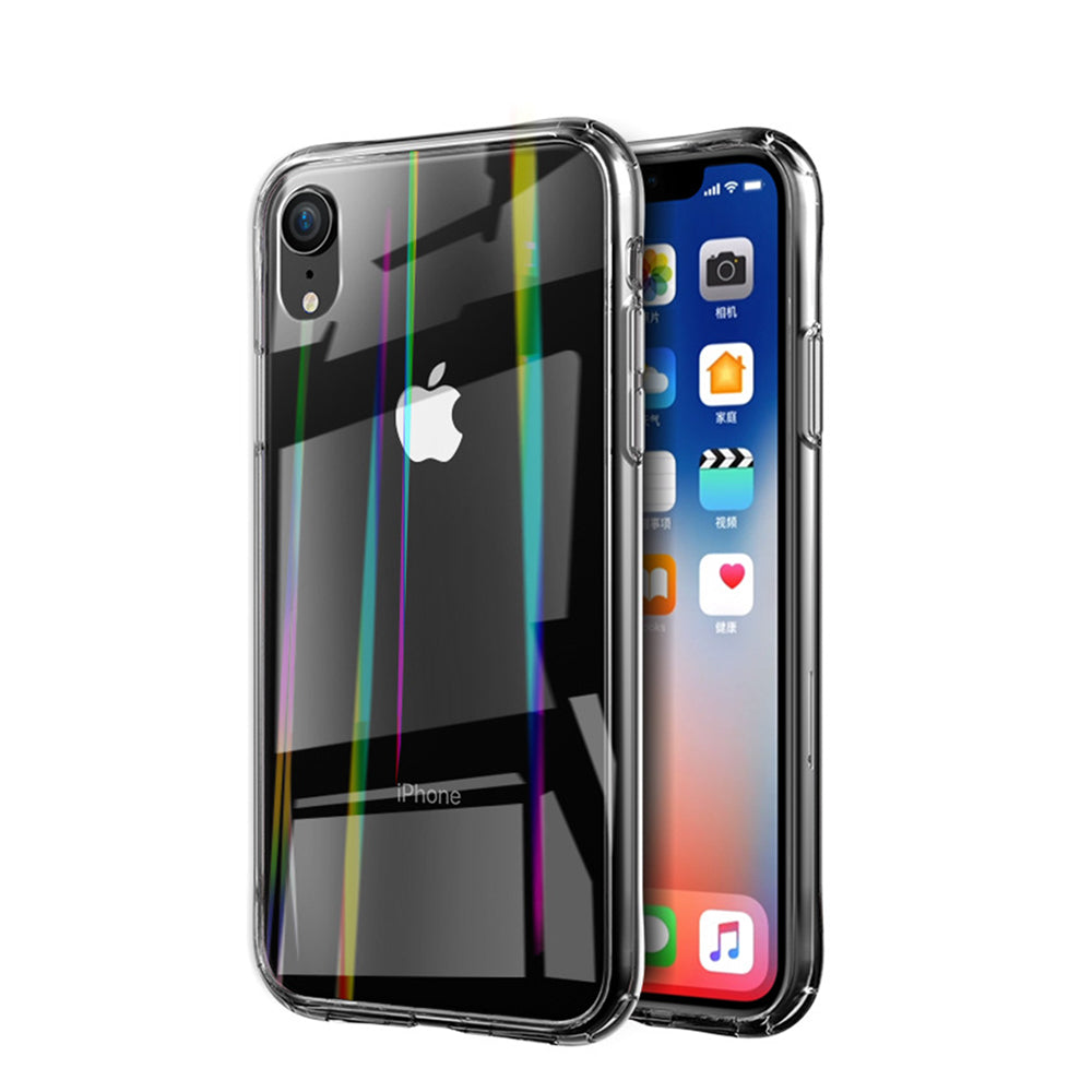 iPhonexs Phone Case Transparent Tempered Glass Phone Case