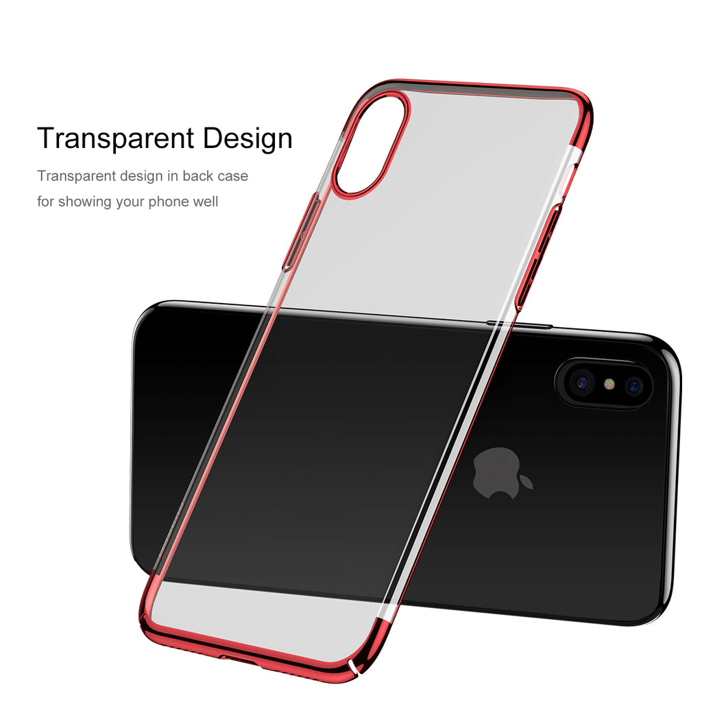 Electroplated iPhone Protective Case Apple Xr Anti-drop Case XsMax