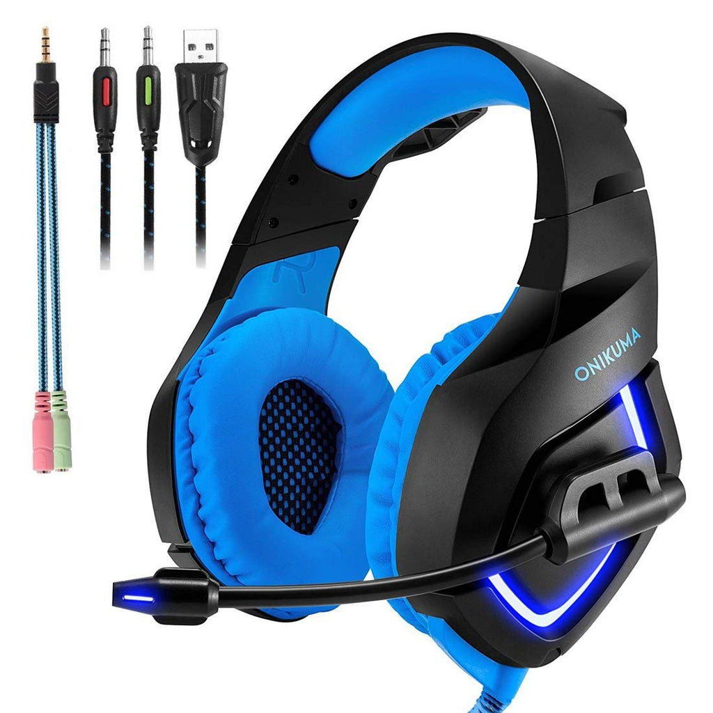 Gaming Headset with Mic for PS4,PC,Xbox One, Laptop Sound Clarity Noise Isolation