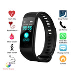 Y5 Smartband Heart Rate Monitor Blood Pressure Measurement Fitness Tracker