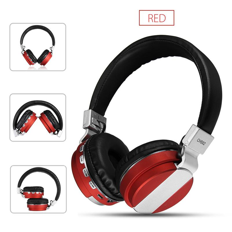 Heavy Bass Wireless Bluetooth Gaming Music Headphones Stereo CHS02
