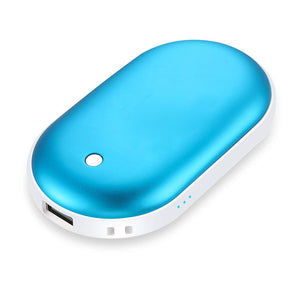 Portable Rechargeable Hand Warmers and Power Bank 2 in 1