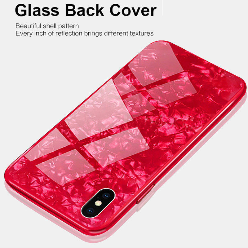 New iPhone XR/XSMax Soft Edge Marble Shatter-resistant Phone Case