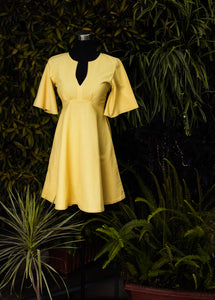 Summer Yellow Dress - Kapad