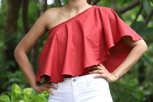 Cape One Shoulder Top - Kapad