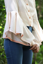 Flared Sleeve Shirt - Kapad