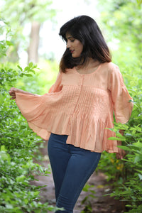 Pleated Pomo Blouse - Kapad