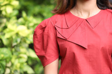 Flap Collar Top - Kapad
