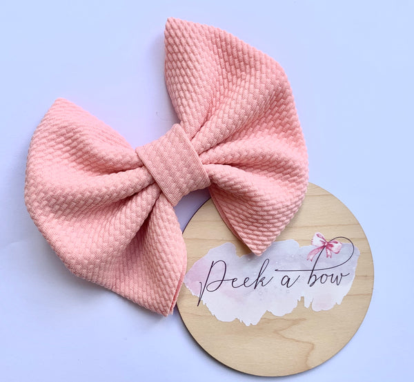 Pink Liverpool bow