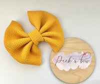 Mustard Liverpool bow