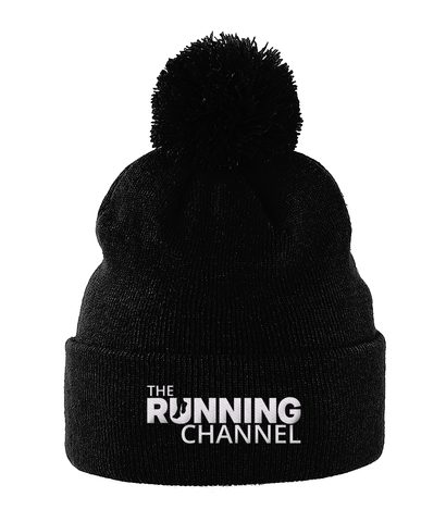 The Running Channel Pom Pom Beanie