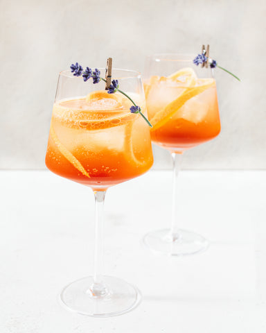 CBD Cocktail - Aperol Spritz