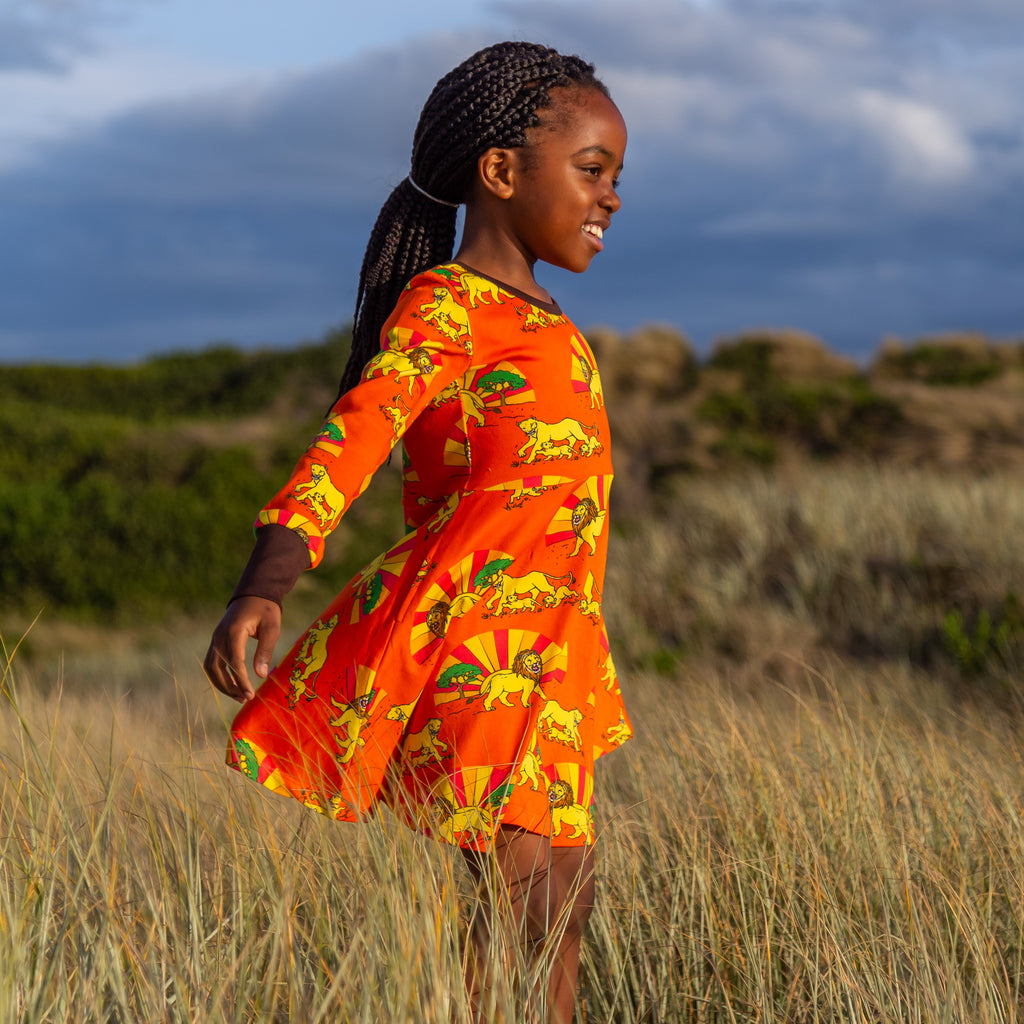 Sol & The Peaceful Tribe | Long Sleeve Twirl Dress