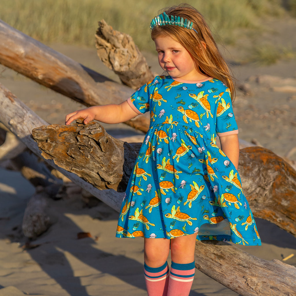 Wave Riders | Baby doll dress with Pockets