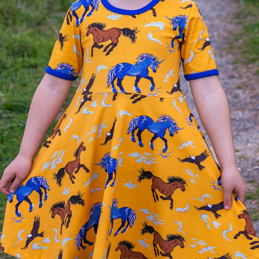 unicorn dress unisex