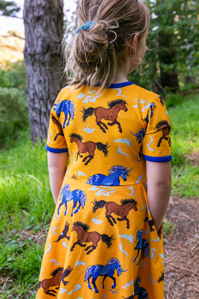 Storm - Leader of the Wild Herd | Twirl dress