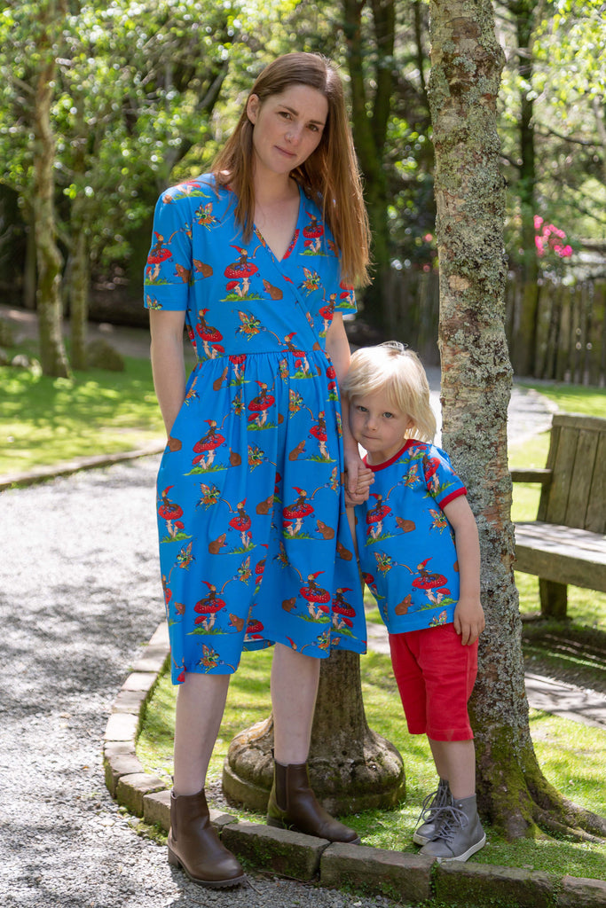 Basil the Curious Gnome | Coco Dress