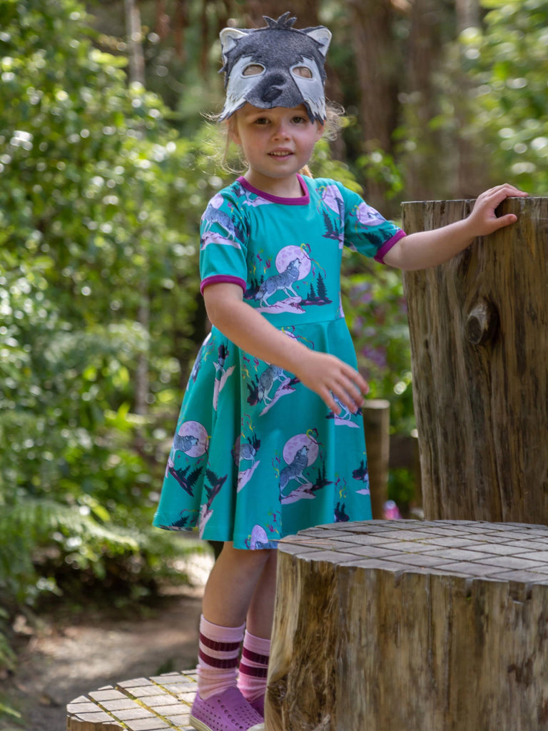 Luna's Song | Short sleeve twirl dress