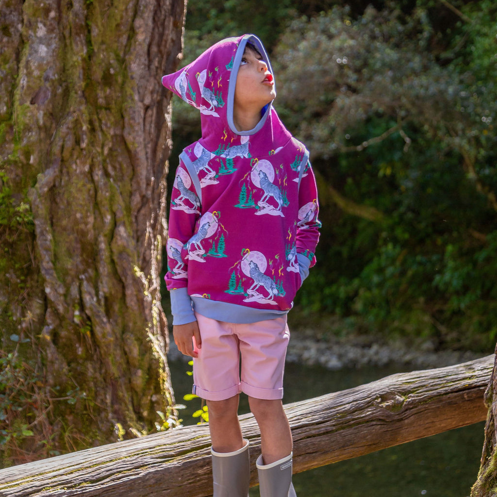 Luna's Song | Forest child Hooded Vest