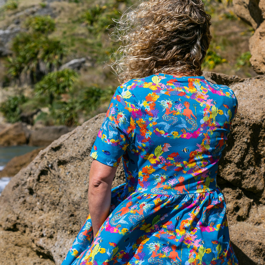 Merin & Pearl the Ocean's Gardeners | Coco dress