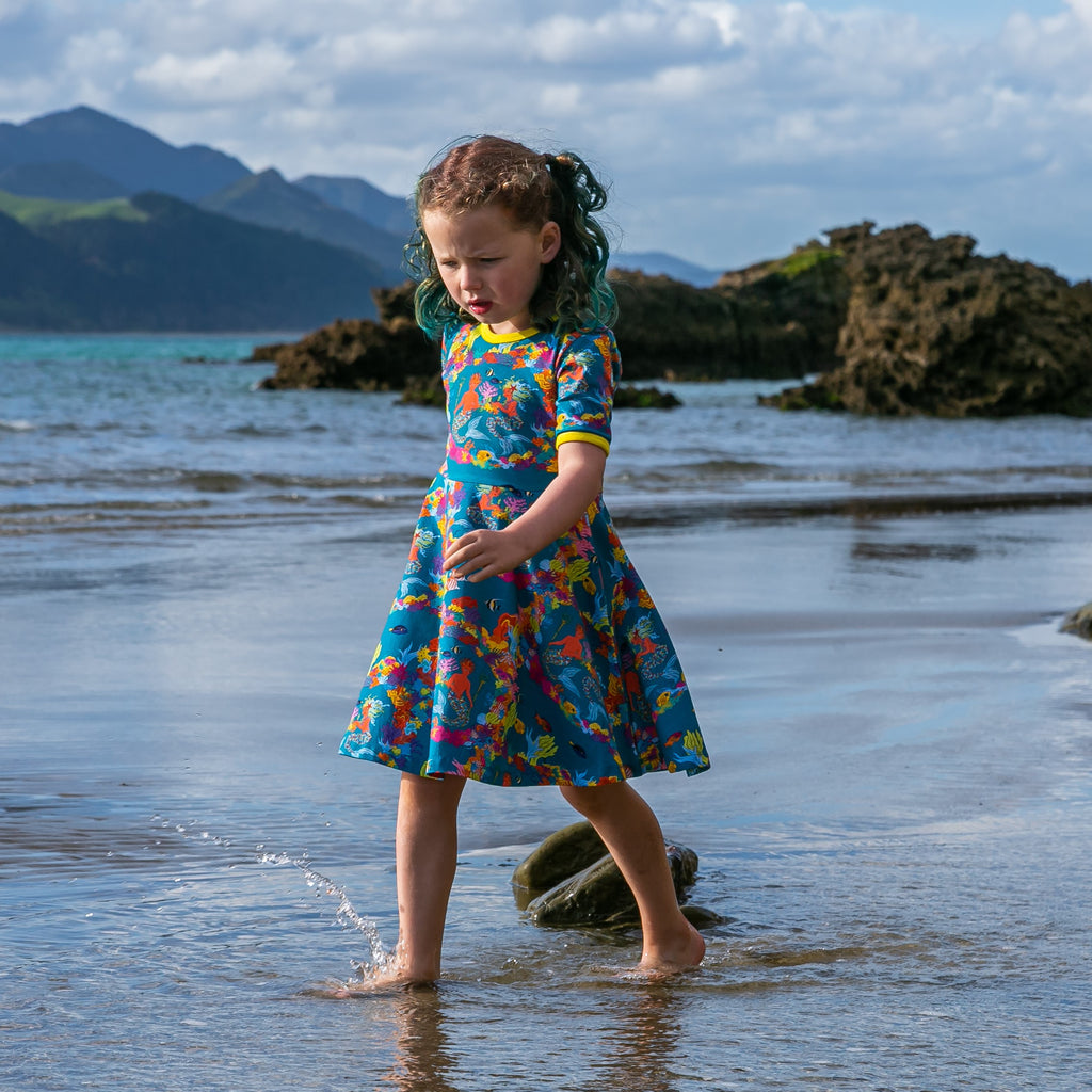 Merin & Pearl the Ocean's Gardeners | Twirl dress