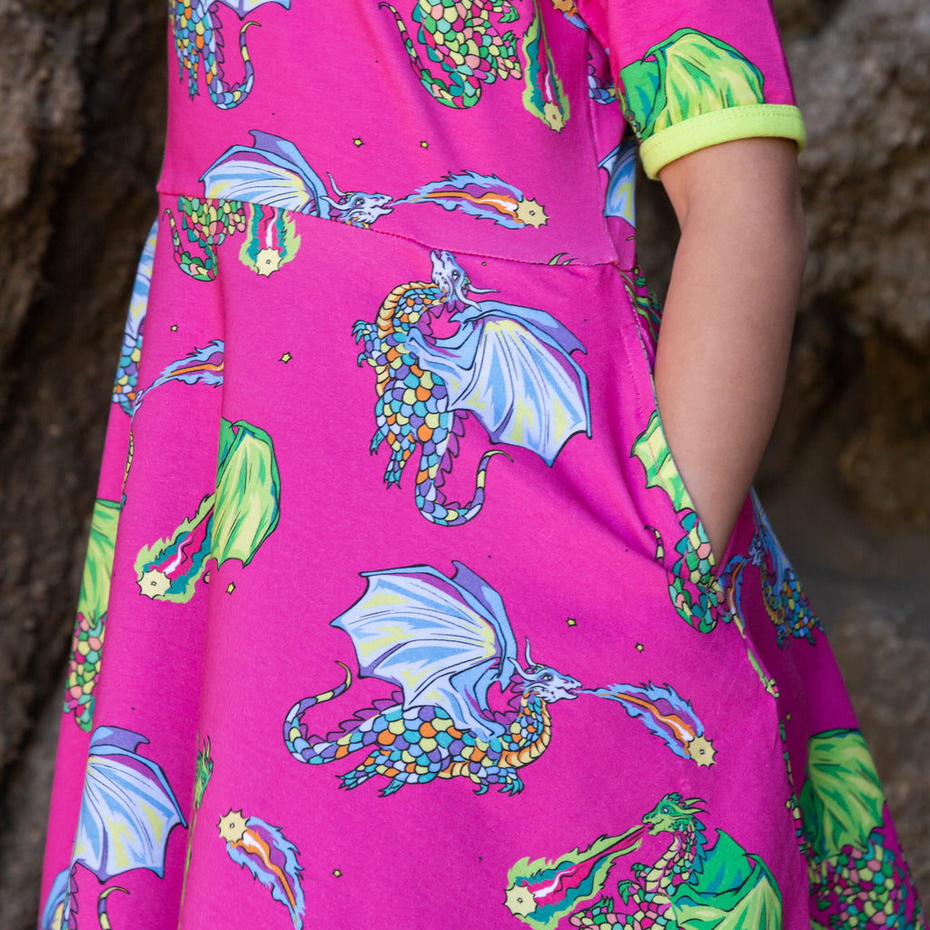 Astrid & Orion the Star Lighters | Twirl dress short sleeve