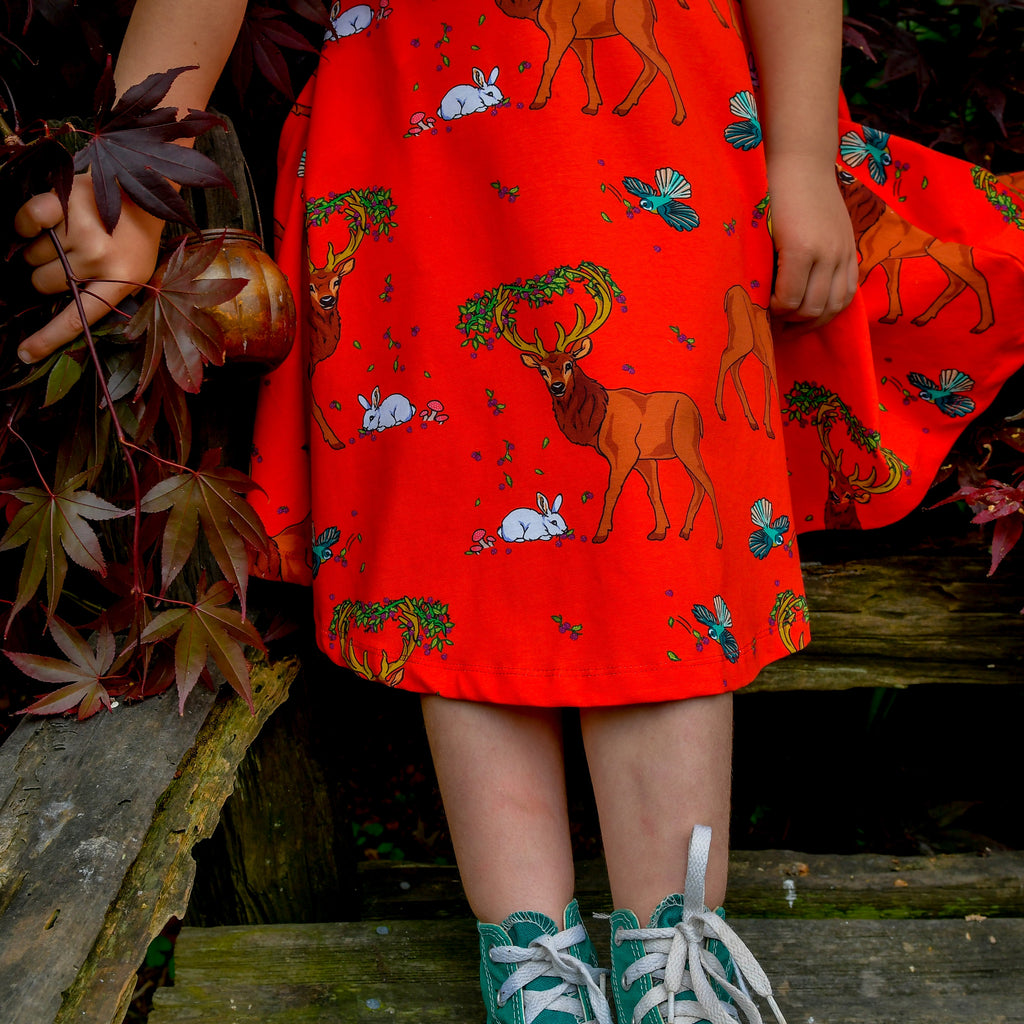 Cedar in the Berry Bush | Twirl dress